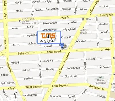map شرکت تسهیل ماشین صنعت