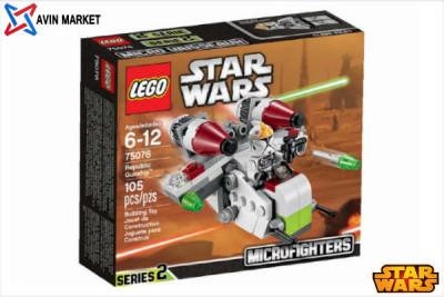 لگو جنگ ستارگان هواپیما-75076 Republic Gunship LEGO STAR WARS