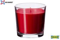 شمع معطر لیوانی ایکیا رایحه توت فرنگی