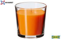 شمع معطر لیوانی ایکیا رایحه نارنگی و پرتقال
