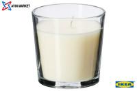 شمع معطر لیوانی ایکیا رایحه وانیلی