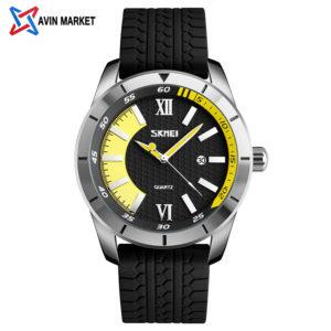 ساعت مچی مردانه  زرد z1 skmei