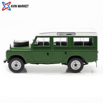 Land Rover Series III 109 year 1980 green white WhiteBox