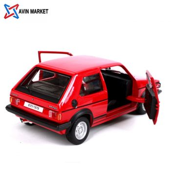 Volkswagen VW Golf Mk1 GTI year 1979 red bburago