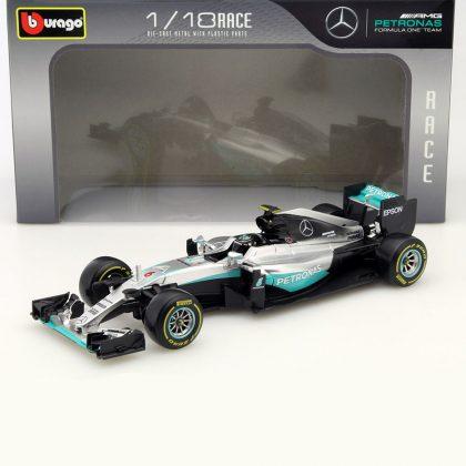 bburago Nico Rosberg Mercedes F1 W07 Hybrid