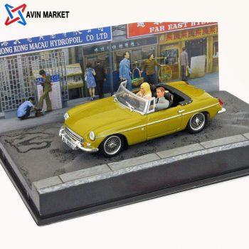 ماکت ماشین ام جی