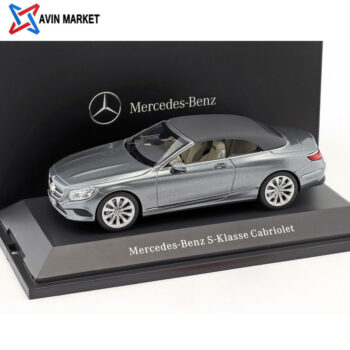 Mercedes-Benz S-Class Cabriolet (A217) selenite Grey 143 Kyosho