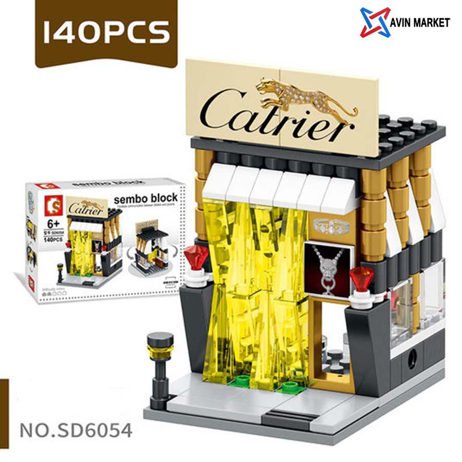 sembo block cartier sd6054