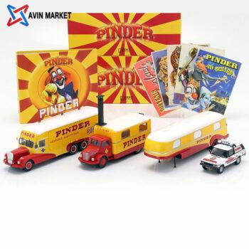 ۴-Car Set Pinder circus plus additional accessories