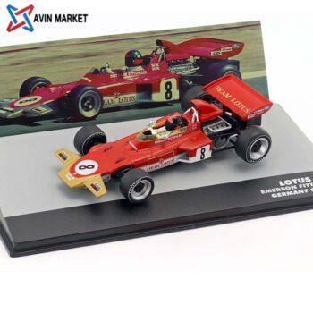 Emerson Fittipaldi Lotus 72D #8 Germany GP Formula 1 1971 1_43 Altaya