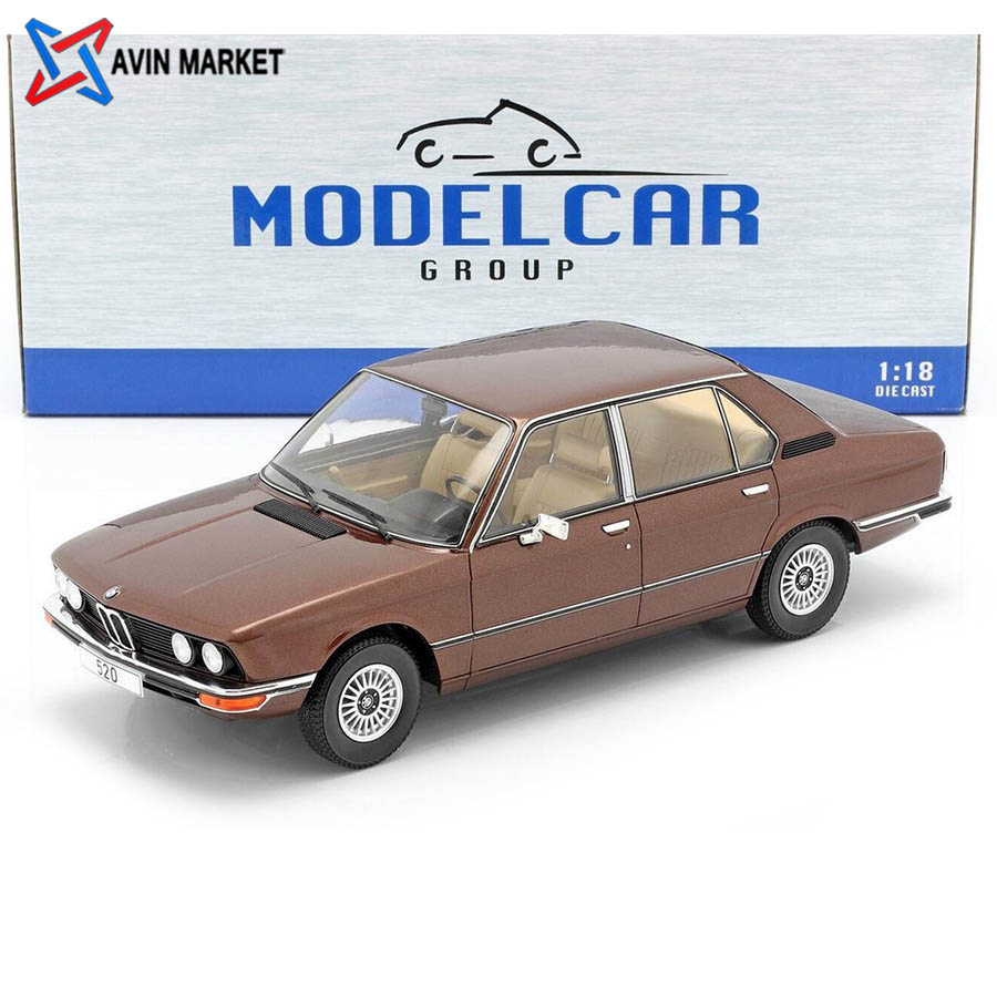 BMW 5-Series (E12) year 1974 dark brown metallic