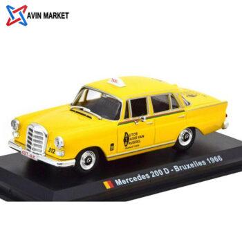 MERCEDES BENZ 200 TAXI BRUXELLES 1966