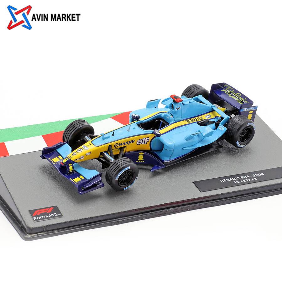 ماکت ماشین فرمول 1 Jarno Trulli Renault R24