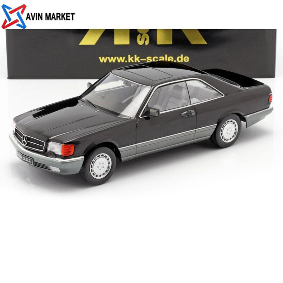 ماکت بنز 560SEC (C126) COUPE 1985